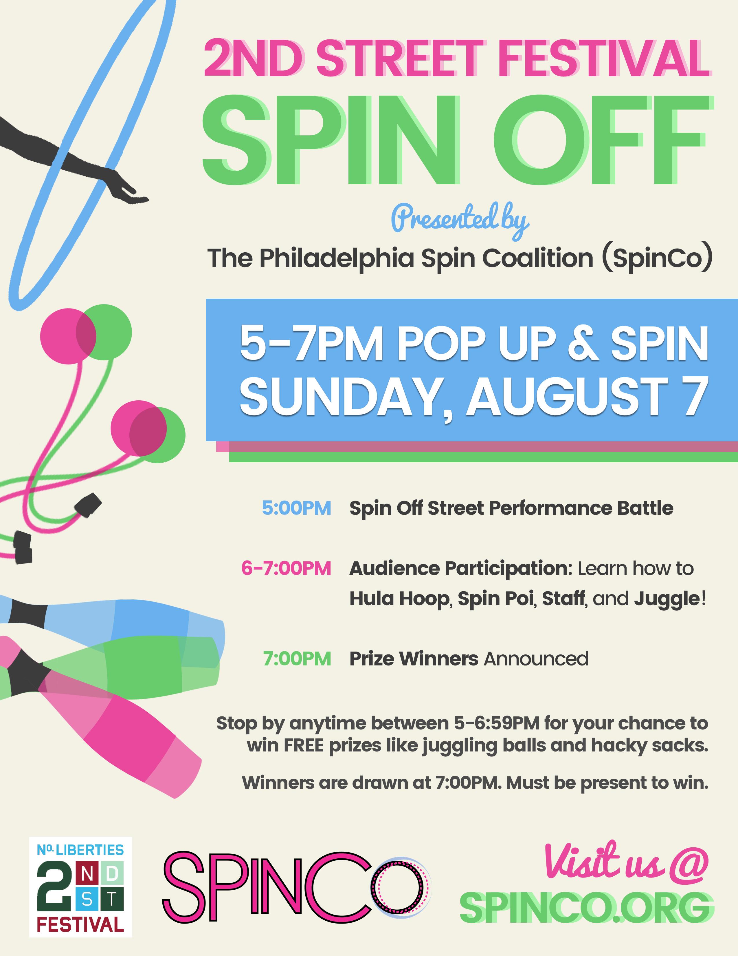Spinco 2Nd Street Fest
