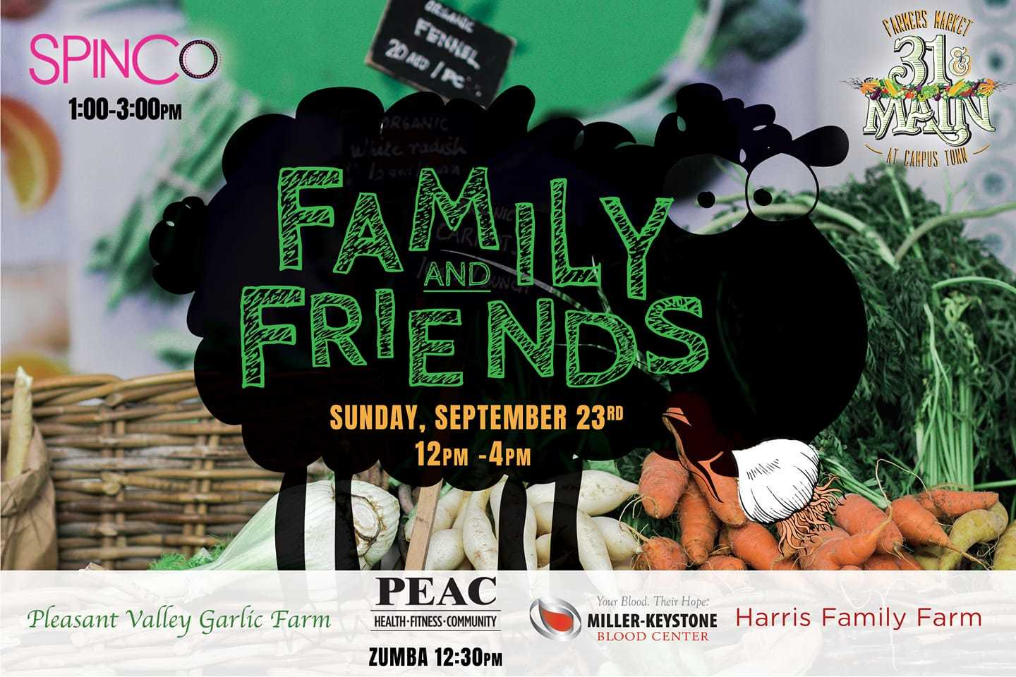 Family And Friends Flyer